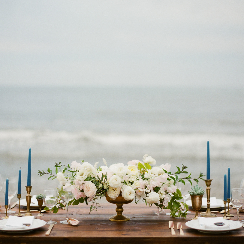 A Coastal Wedding Inspiration