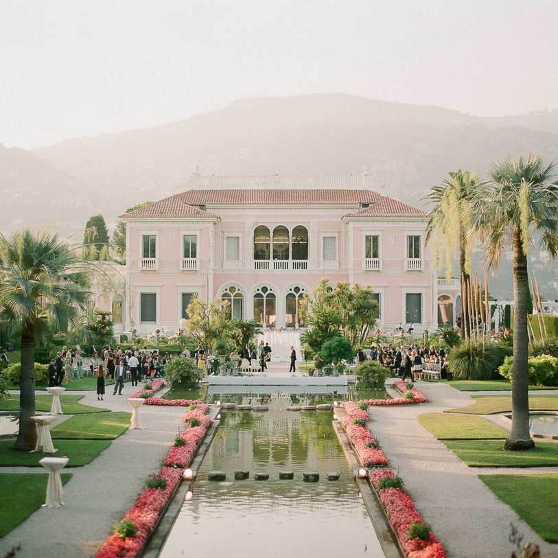 A Glamorous French Riviera Wedding