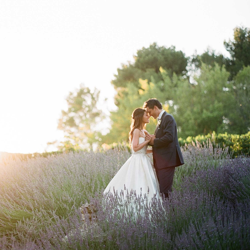 A Provence Wedding in a French Chateau