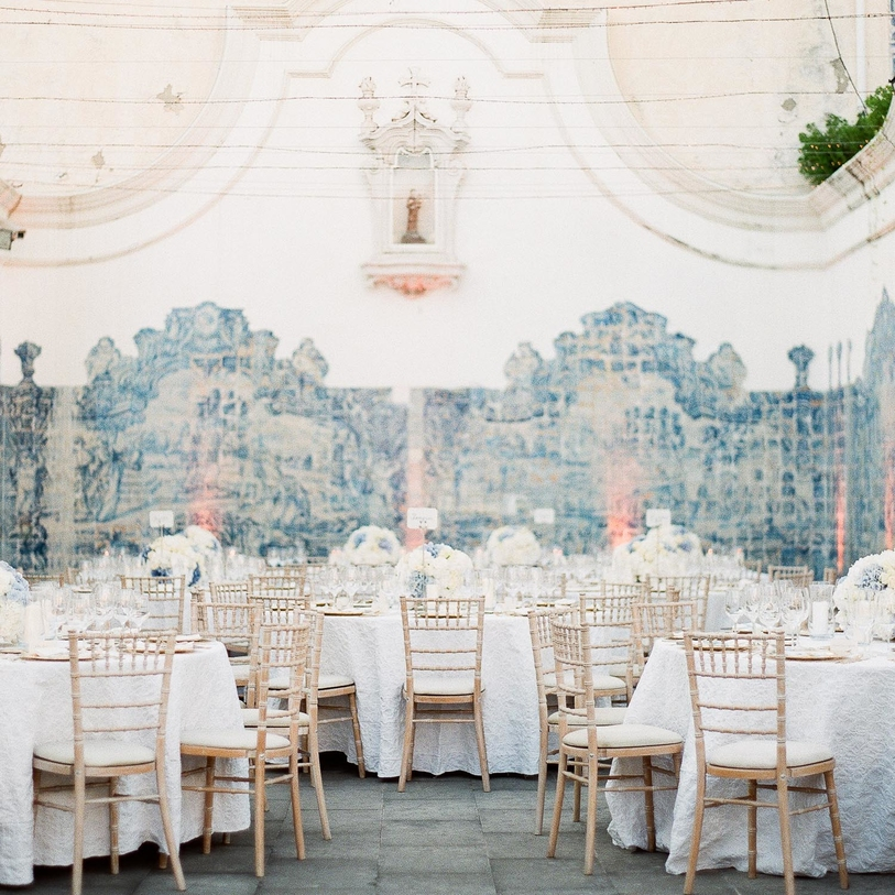 A Palace Destination Wedding in Lisbon