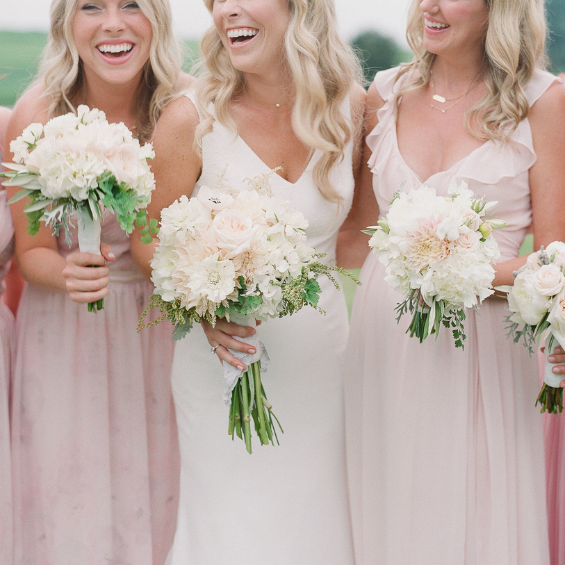 A Pink Wedding in Upstate New York