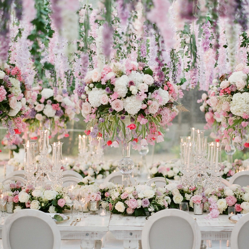 A Floral Wonderland Wedding in Thailand